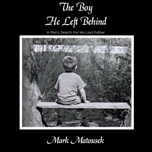 The Boy He Left Behind audiobook cover art