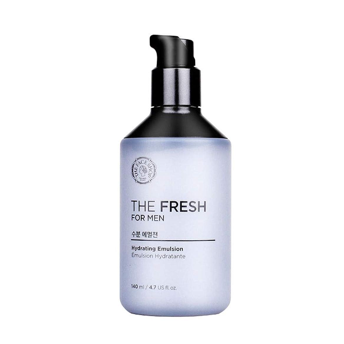 ハーブ薄汚いインデックスザ?フェイスショップザ?フレッシュフォーマン水分エマルジョン140mlメンズコスメ、The Face Shop The Fresh For Men Hydrating Emulsion 140ml Men's Cosmetics [並行輸入品]