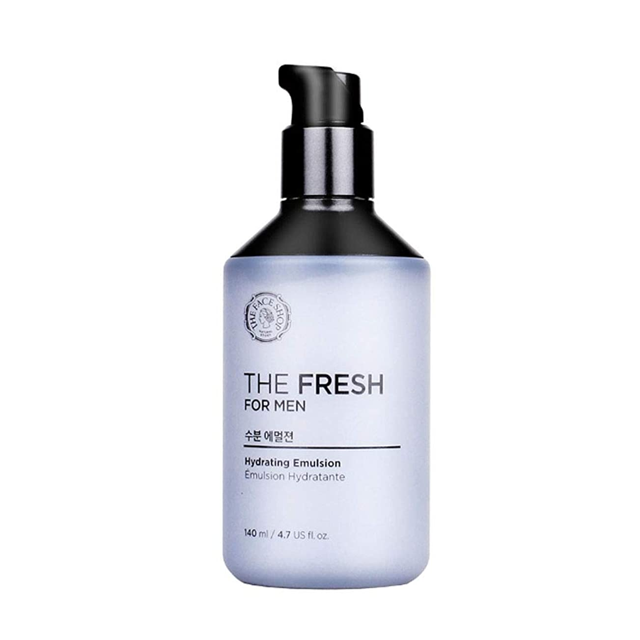 啓示商業の取るザ?フェイスショップザ?フレッシュフォーマン水分エマルジョン140mlメンズコスメ、The Face Shop The Fresh For Men Hydrating Emulsion 140ml Men's Cosmetics [並行輸入品]