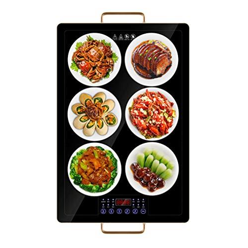 LM Intelligente Multifunctionele Isolatie Maaltijdbord Thuis Voedselopwarming/Isolatie Board, 1 minuut Hot & Timed Shutdown, Panel kan zetten 6-7 Vaatwasser, 60×40cm