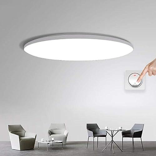 JIUHommesG 18W LED Plafonnier Salle bains Blanc Lampe Moderne pour Chambre Couloir Salon Balcon Eclairage Intérieur Plafonnier,Lampe plafond