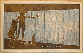 dave matthews band poster 2012