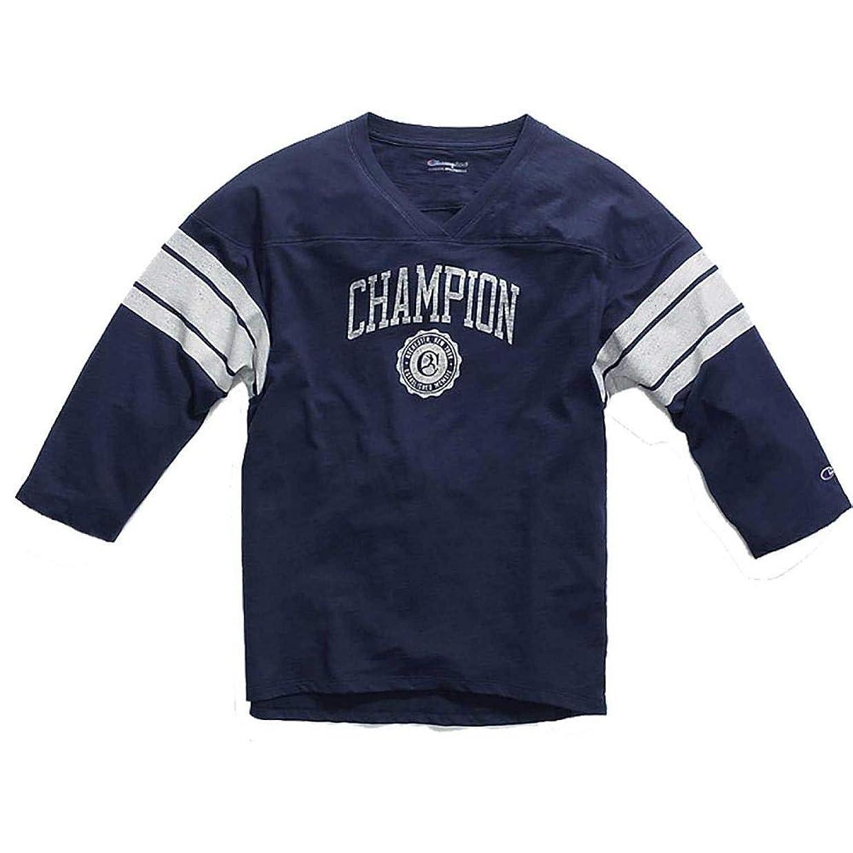 バンジョーブロック十一(チャンピオン) Champion レディース トップス 長袖Tシャツ Heritage Football 3/4 Length Sleeve Shirt [並行輸入品]