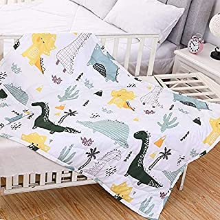 Baby and Toddler Blanket, Lightweight Bed Blanket for Newborn Infant Unisex Boys 39×55inch,Dinosaur