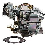 Carburetor 1 barrel Replacement For 1965-1985 Ford Bronco Fairmont Granada Econoline F100 F150 F250 F350 4.9L 300 cu 4.1L 250 3.3L 200cu Engines - Automatic Vacuum Choke - YF Carter Type