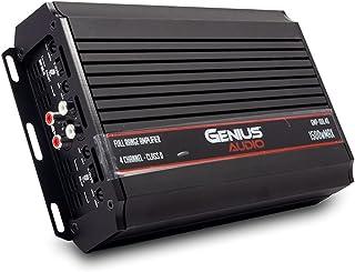 $180 » Genius Audio GMP-100.4D Compact Mini-Plus Car Audio Amplifier 4 Channel 1500 Watts Max Class D 2-Ohm Stable with Power Pro...