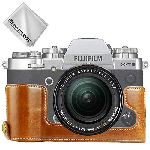 2X Fujifilm X-T1 X-T2 Láminas óptico Protector de Pantalla Vidrio Templado Film
