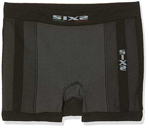 SIXS Box2 XL Boxer a Pantaloncino, Carbon Black, Unisex-Adulto