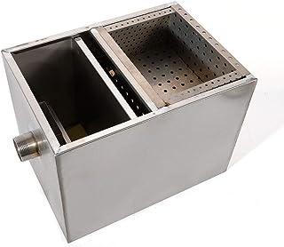 Kaibrite 500 m3/h Piège à Graisse en Acier Inoxydable Interceptor Séparateur de Graisses pour Restaurant Cuisine