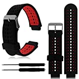 Soft Silicone Replacement Watch Band for Garmin Forerunner 235/220 / 230/620 / 630/735
