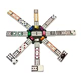WE Games Mexican Train Dominoes