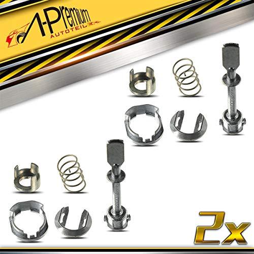 2x Schließzylinder Reparatursatz für Cordoba 6K2 6K5 Ibiza III 6K1 6K9 Caddy II 9K9A 9K9B 9U7 Polo 6KV2 6KV5 1995-2004 6K4837223A