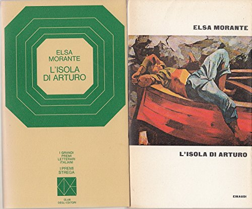 L- L'ISOLA DI ARTURO PREMIO STREGA 1957 - MORANTE - CDE --- 1969 - BS - ZCS410