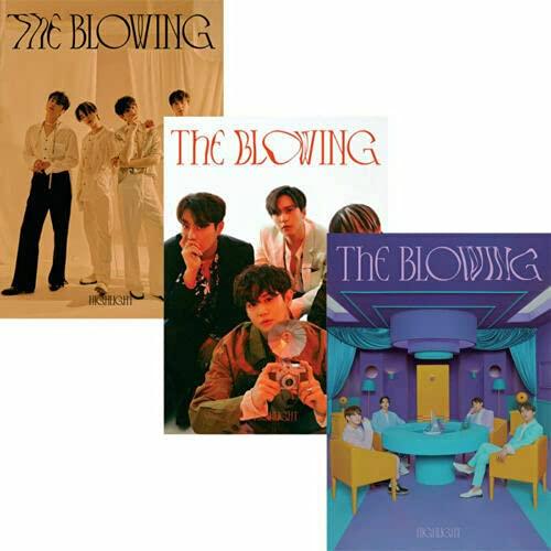HIGHLIGHT [THE BLOWING] 3rd Mini Album [ BREEZE + WIND + GUST ] 3 VER FULL SET. 3 CD+3 Photo Book(each 100p)+3 Holder +3 Lyrics Paper(each 8p)+etc K-POP SEALED+TRACKING CODE