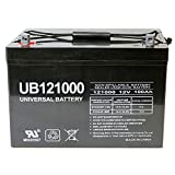 12V 100Ah AGM Sealed Lead Acid Battery UB121000 Group 27