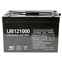 Universal Power Group Deep Cycle VRLA Battery
