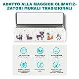 Aria Condizionata Vento Deflettore,Deflettore condizionatore & Aria condizionata Vento deflettore(Color 1)