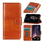 HULDORO Magnétisé PU Cuir Fermoir Folio Case for Huawei Honor 20 Pro, Porte-Cartes Flick Béquille...