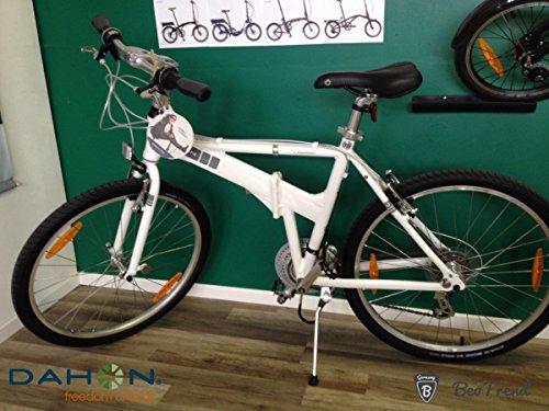 Dahon Espresso D21 - Bicicleta plegable (talla L), color blanco