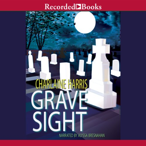 Grave Sight audiobook cover art