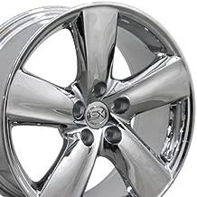18x8 Wheel Fits Lexus - LS460 Style Chrome Rim, Hollander 74196