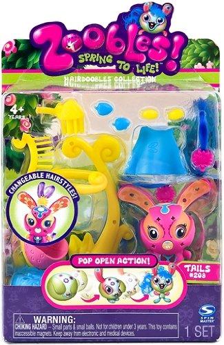 Zoobles - 206 - Poupee et Mini poupee - Zooble a Coiffer - Zoey