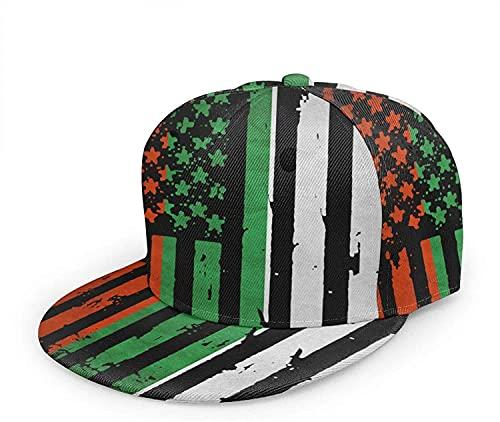 BONRI Bulgaria Bandiera Americana Unisex Stampa 3D Cappellino da Baseball Classico Cappellino con Visiera Piatta Snapback Bill Hip Hop-Nero