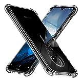 TesRank Nokia 6.2 / Nokia 7.2 Case, Slim Clear Soft TPU Gel