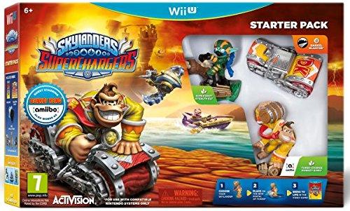 Jogo Jogo Skylanders Superchargers Starter pack Wii U
