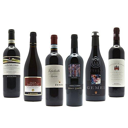 Probierpaket Topseller Rotweine aus Italien (6 x 0,75l)