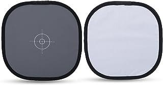Grijs-witbalans referentiekaart, 30x30 cm 18% grijs-witbalans Focuskaart met draagtas Opvouwbaar focusbord voor digitale f...