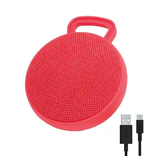 RAYPOW Rot Tragbarer Bluetooth Lautsprecher · Mini-Lautsprecher mit Bedienfeld...