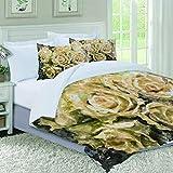 MISLD - Juego de funda de edredón para cama individual, doble y king size, diseño de brújula mágica de la antigua...