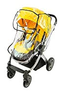 Universal pram & seat unit wind / rain cover Designed to fit BabyStyle Oyster Pushchair Carry Cot and Seat Opening front panel Made of top quality flexible PVC Made in EU