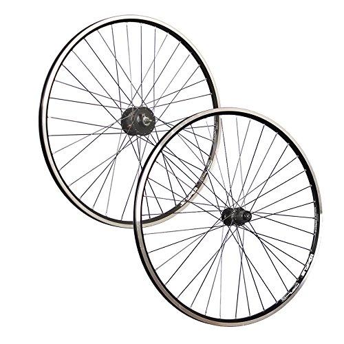 Taylor-Wheels 28 Pulgadas Juego Ruedas Bici Dinamo buje Shimano Acera Negro: Amazon.es: Deportes y aire libre