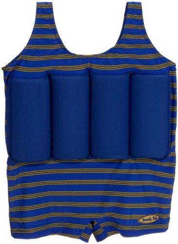 Beverly Kids Jungen UV Schutz Bojen-Badeanzug Cote D'azure, blau/ grün, 110, 20040