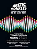 Kopoo Arctic Monkeys Poster - Konzertpromo Tame Impala und