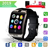 Smart Watch,Bluetooth SmartWatch with Camera Touchscreen,Smart Watches Waterproof Unlocked Phones Watch with SIM Card Slot,SmartWatches Compatible with Android Phone XS 8 7 6 Samsung