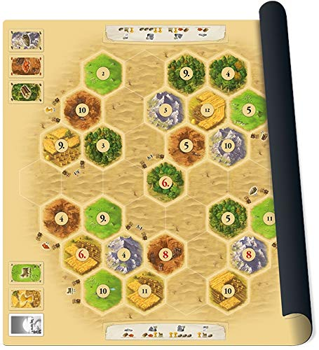 999 Games spel Catan playmat Desert