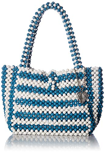 Betsey Johnson Just Bead It Bag, blue