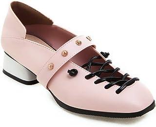 BalaMasa Womens APL12256 Pu Heeled Sandals