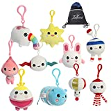 True and The Rainbow Kingdom Plushie Clip-On Set: The Wishes, Complete Collection of 10