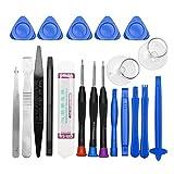 Kit d'outils d'ouverture de téléphone portable 20 en 1 pour iPhone, iPad, Samsung, outils à main de réparation, kit de démontage de téléphone portable