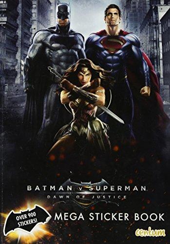 Batman vs Superman: Mega Sticker Book (Batman Vs Superman Movie)