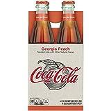 Coke Origins Coca-cola Georgia Peach Bottles, 12 Fl Oz
