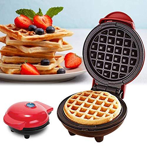 YIHGJJYP Waffles Piastra Mini elettrica Cialde Maker Bubble Uovo Torta Forno Colazione della cialda Macchina Pan Eggette Pot