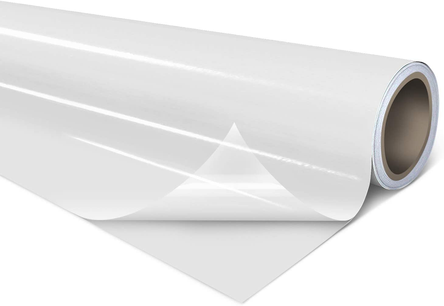 VViViD Clear Self-Adhesive Lamination Vinyl Roll for Die-Cutters and Vinyl Plotters (12