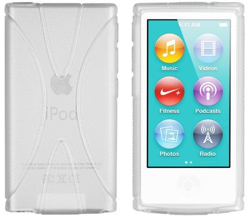 mumbi X-TPU Hülle kompatibel mit iPod Nano 7G 2012 Handy Case Handyhülle, transparent weiss