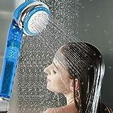 Geekpure Alcachofa de ducha manual con filtro universal de 4 fases, elimina la dureza y el cloro, añade vitamina C, ya no tendrá la piel seca ni sentirá picazón, 2 filtros incluidos, sin BPA