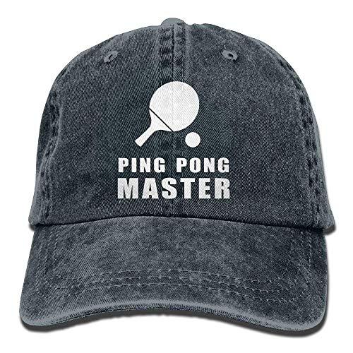 Ping Pong Master Adult Denim Dad Solid Baseball Navy